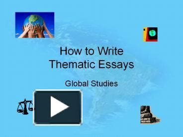 Thematic Essay Writing Help - ProfEssayscom